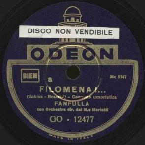 Filomena - canzone umoristica