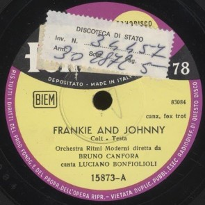 Frankie And Johnny cover