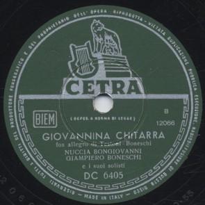 Giovannina chitarra