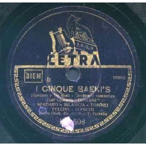 I Cinque Baekii's cover