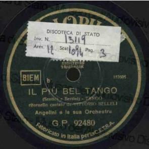 Il Più Bel Tango cover
