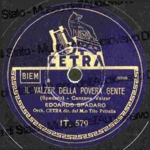 Il Valzer Della Povera Gente cover