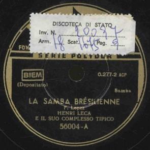 Il samba brasilienne