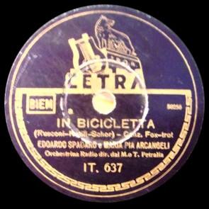 In Bicicletta cover