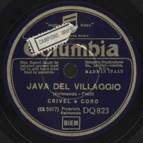 Java del villaggio