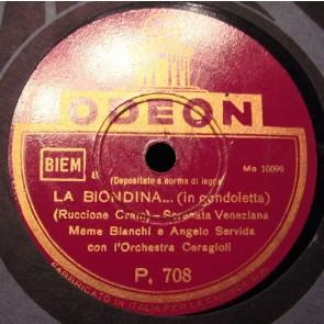 La Biondina In Gondoletta cover