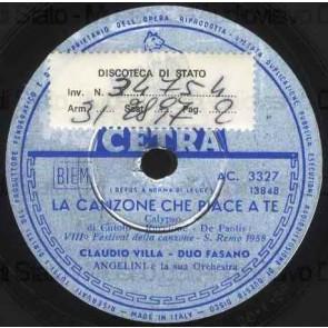 La Canzone Che Piace A Te cover