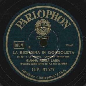 La biondina in gondoleta