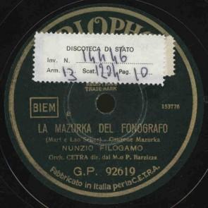La mazurka del fonografo