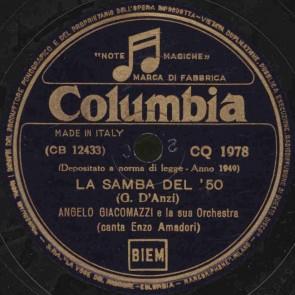 La samba del '50