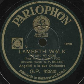Lambeth Walk cover