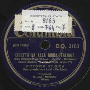 Lisetta va alla moda italiana