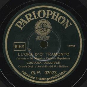 Ll'ora D'o Tramonto cover