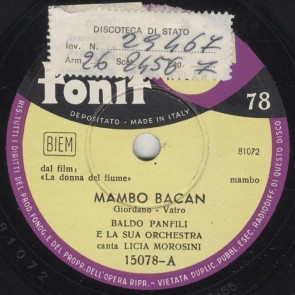 Mambo bacan