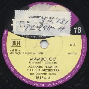 Mambo oe'