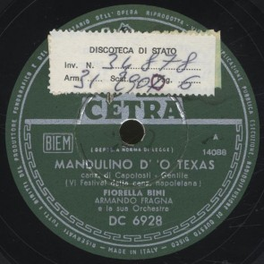 Mandulino d'o Texas