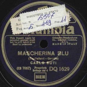 Mascherina blu