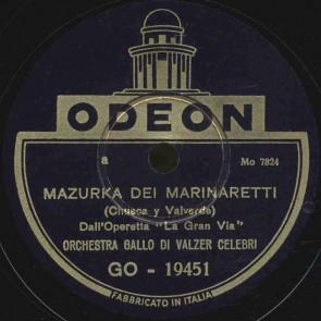 Mazurka dei marinaretti