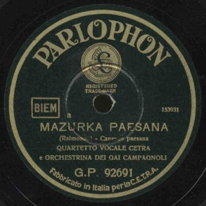 Mazurka paesana