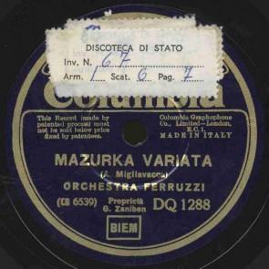 Mazurka variata
