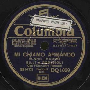 Mi chiamo Armando