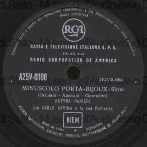 Minuscolo Porta,Bijoux cover