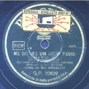 Nel Cielo C'è Una Canzone D'amore cover