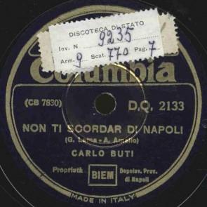 Non ti scordar di Napoli