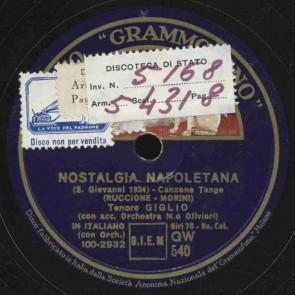 Nostalgia napoletana