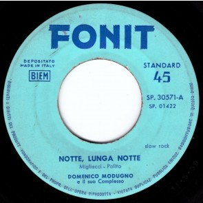 Notte Lunga Notte cover