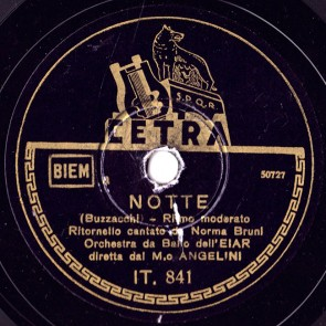 Notte cover