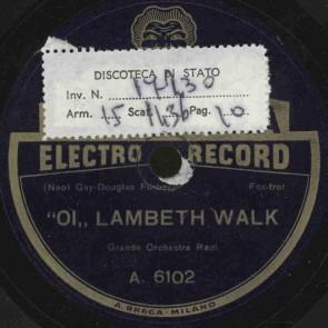 Oi lambeth walk