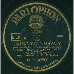 Paradiso D'haway cover