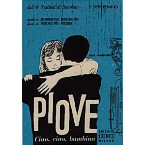 Piove (Ciao Ciao Bambina) cover