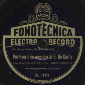 Pot pourri su musiche di E. De Curtis