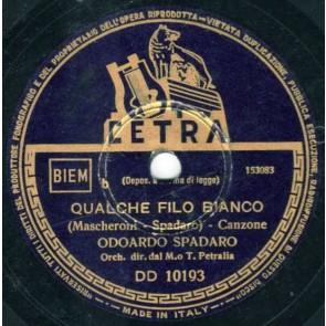 Qualche Filo Bianco cover