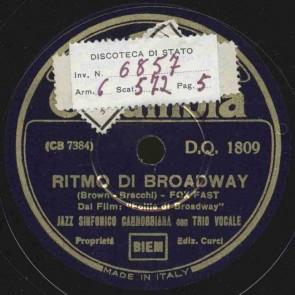 Ritmo di Broadway