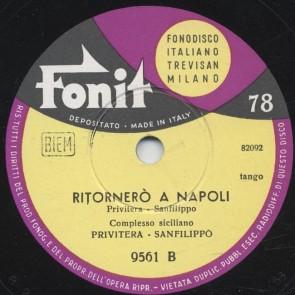 Ritornero' a Napoli