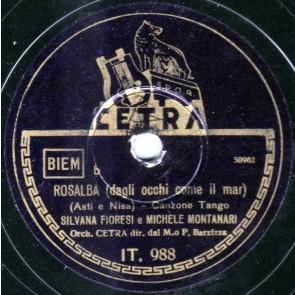 Rosalba (dagli occhi come il mar) cover