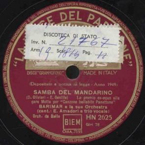 Samba del mandarino