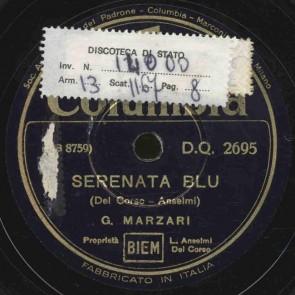 Serenata blu