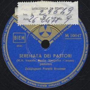 Serenata dei pastori