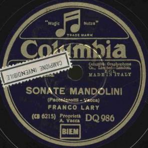 Sonate mandolini