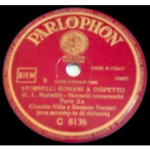 Stornelli Romani A Dispetto cover