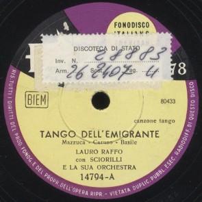Tango dell'emigrante