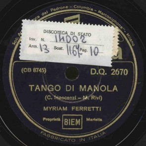 Tango di Manola