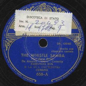 The whistle samba