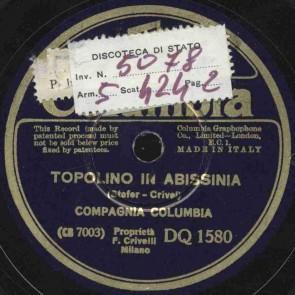 Topolino in Abissinia