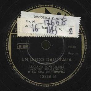 Un disco all'Italia