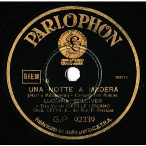 Una Notte A Madera cover